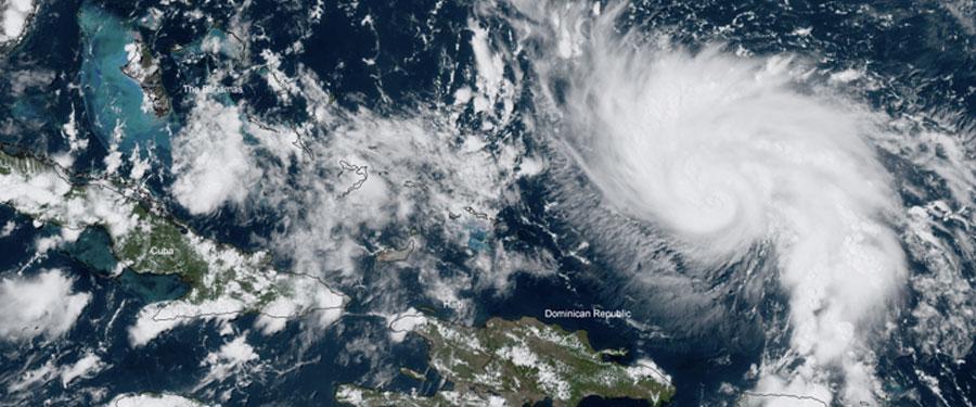 A Prayer Against Hurricane Dorian