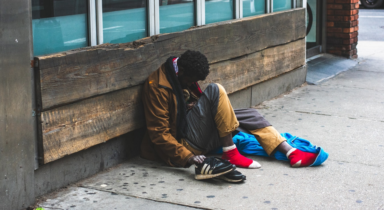 A Prayer for People Who Are Homeless