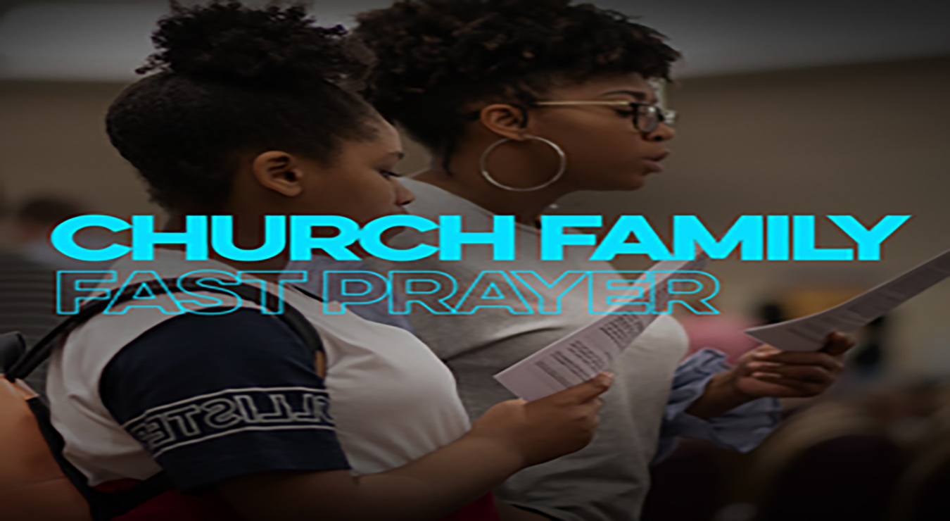 A Church Family Fast Opening Prayer